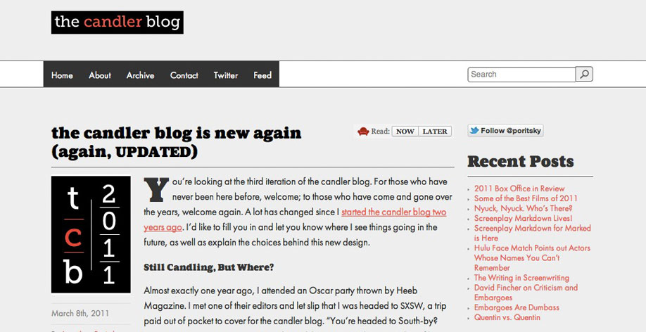 the candler blog in 2011